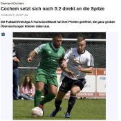 14.08.2017 – Erster Punkt bei der SG Eifelhöhe – Gerechte Punkteteilung beim Auswärtsspiel in Gevenich
